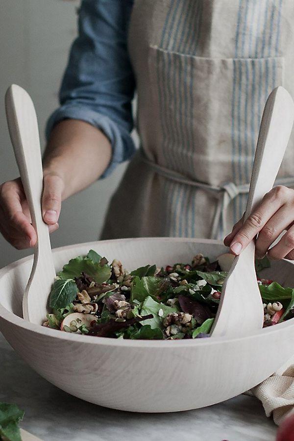 Slide View: 3: Farmhouse Pottery Salad Servers