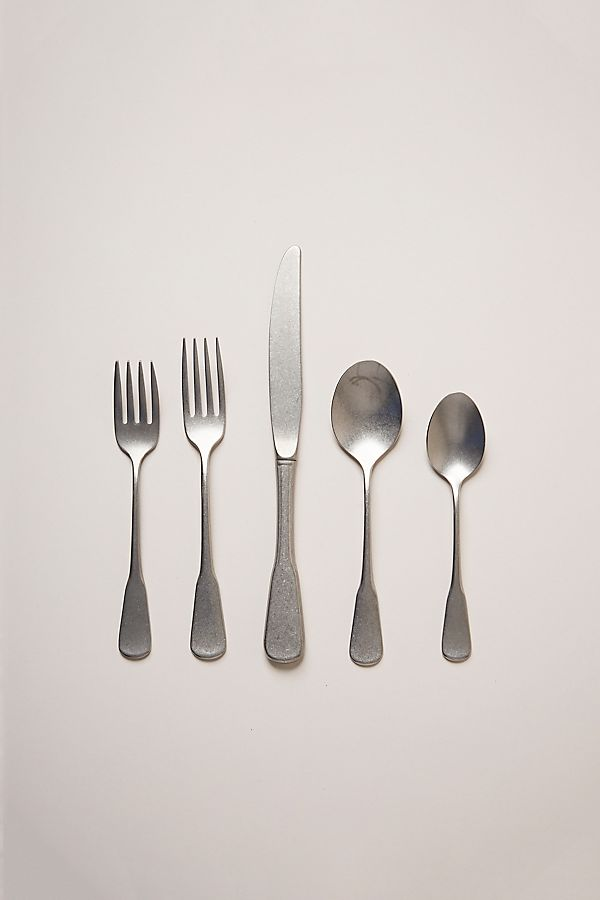 Slide View: 1: Farmhouse Pottery Shelburne Flatware