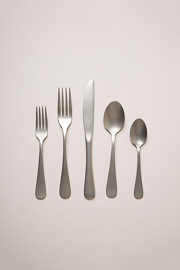 Slide View: 1: Farmhouse Pottery Woodstock Flatware