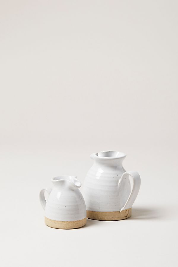 Slide View: 1: Farmhouse Pottery Bell Pitcher