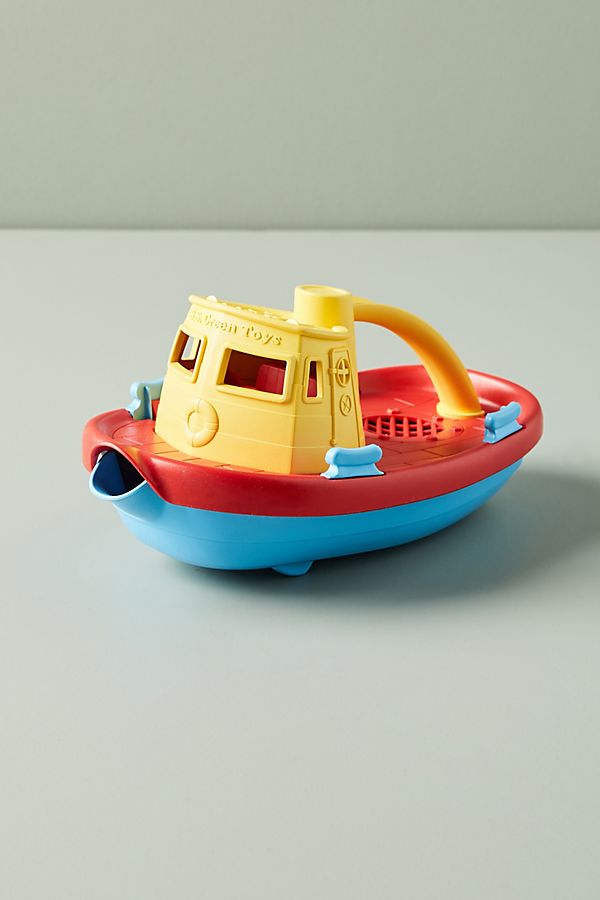 Slide View: 1: Tug Boat Toy