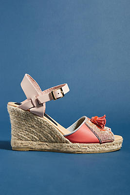 Meher Kakalia Queen Yuca Wedge Sandals by Meher Kakalia