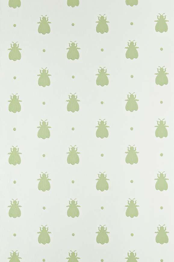 Slide View: 1: Farrow & Ball Bumble Bee Wallpaper