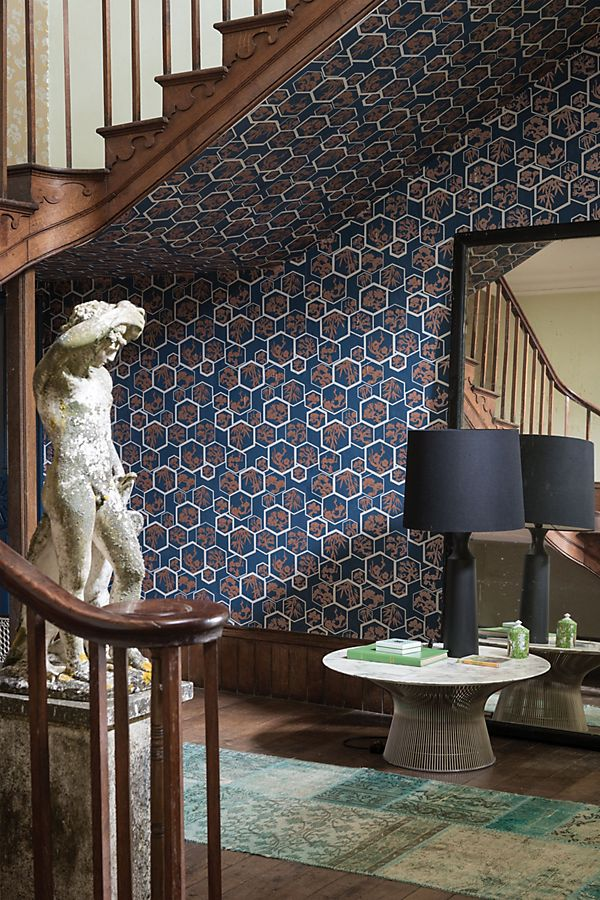 Slide View: 1: Farrow & Ball Shouchikubai Wallpaper