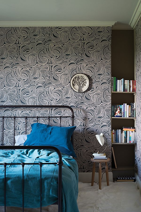 Slide View: 1: Farrow & Ball Tourbillon Wallpaper