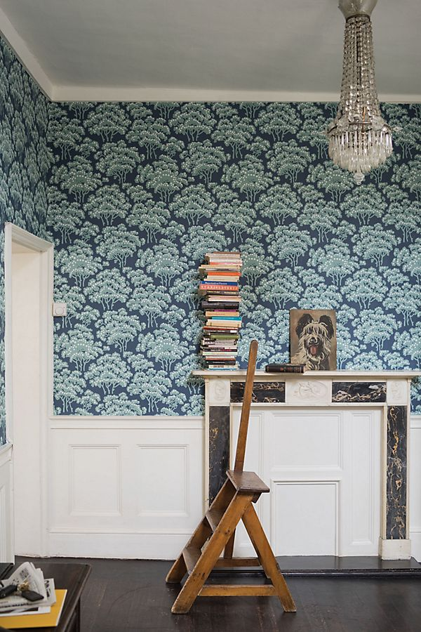 Slide View: 1: Farrow & Ball Hornbeam Wallpaper