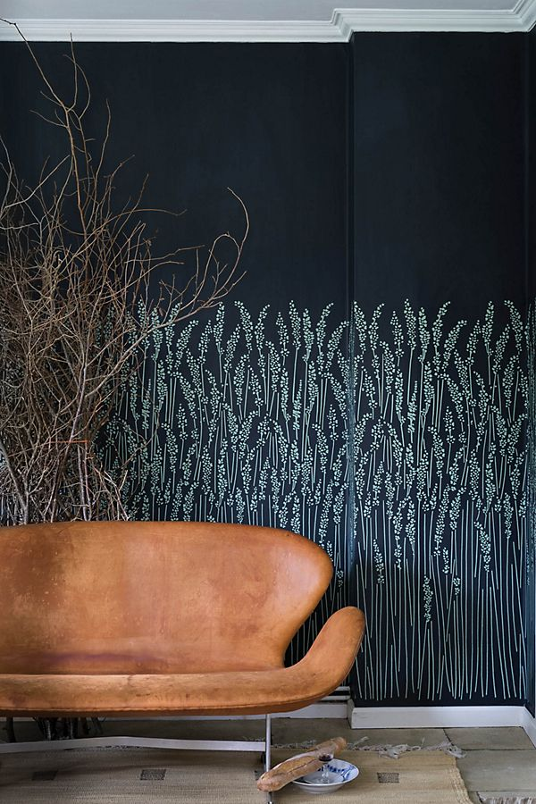 Slide View: 1: Farrow & Ball Feather Grass Wallpaper