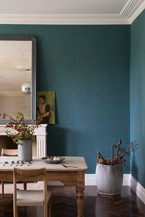 Slide View: 1: Farrow & Ball Silvergate Wallpaper