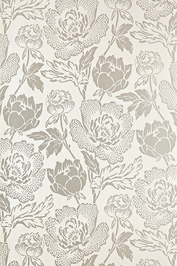 Slide View: 1: Farrow & Ball Peony Wallpaper