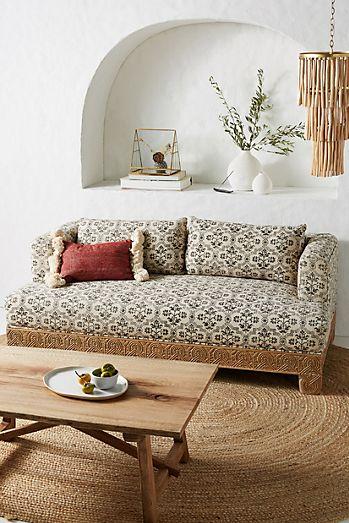 Phenomenal Black Couches Sofas Loveseats Anthropologie Machost Co Dining Chair Design Ideas Machostcouk