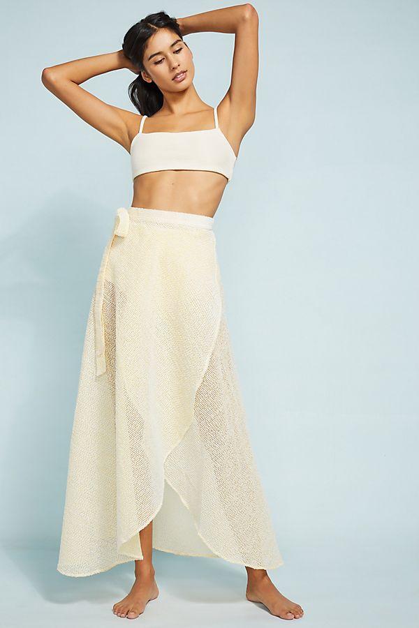 Slide View: 1: Onia Amanda Cover-Up Skirt