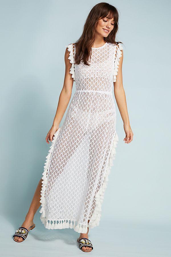 429ad082b522 Nightcap Tasseled Cover-Up Dress   Anthropologie