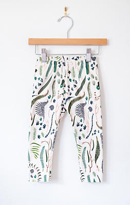 Slide View: 1: Lola & Stella Organic Leggings