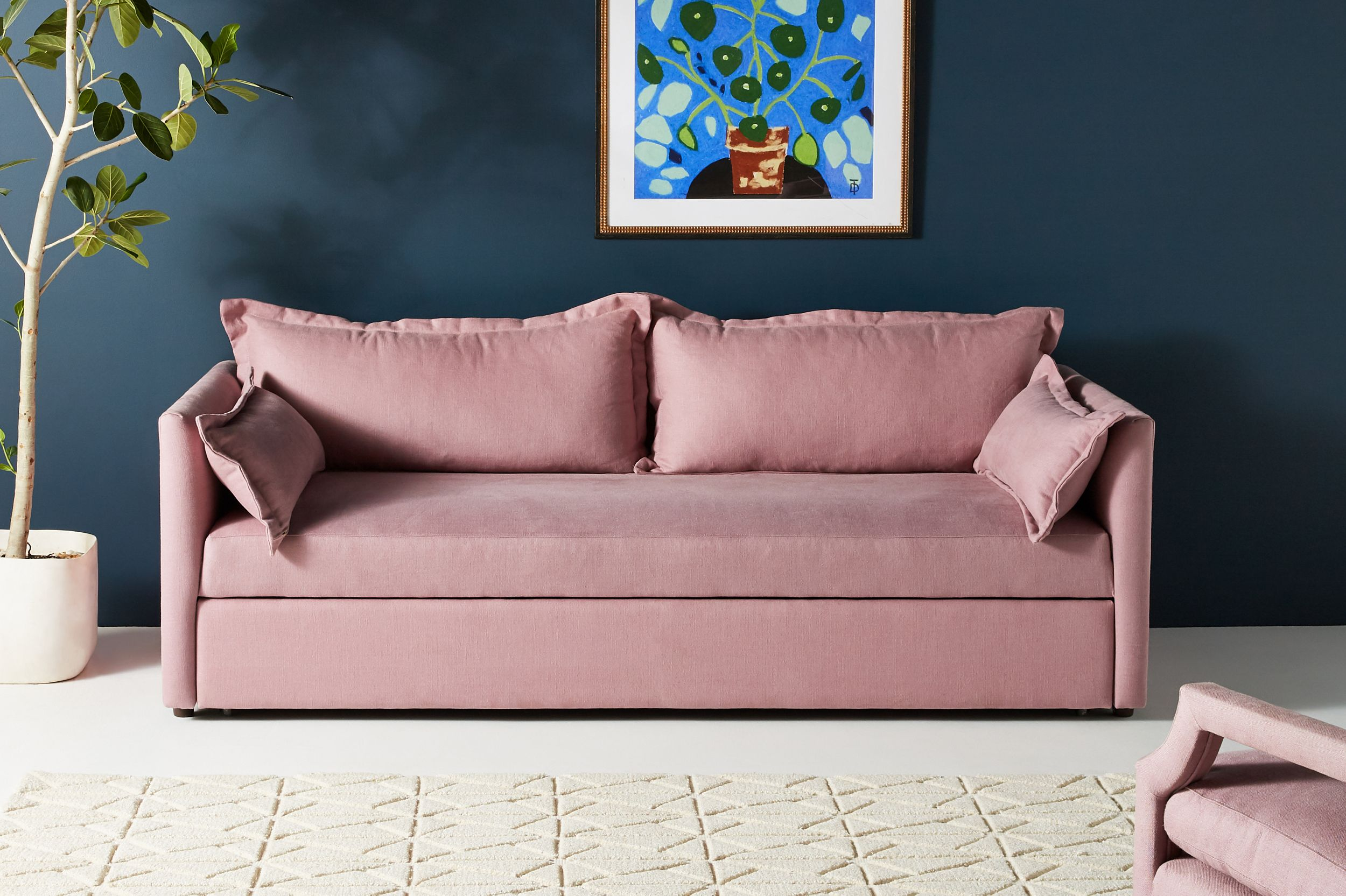 Denver Trundle Sleeper Sofa Anthropologie