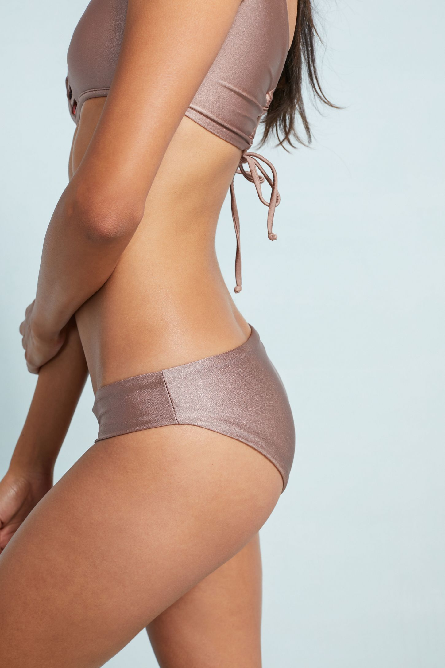 1e355fc90d33ce Maaji Champagne Sublime Reversible Bikini Bottoms | Anthropologie