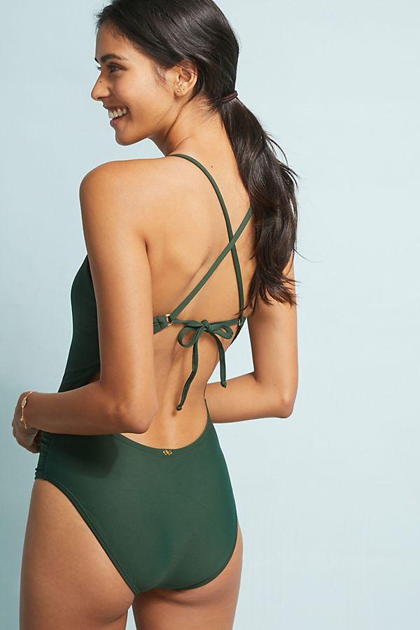 8f268e1360 PilyQ Victoria One-Piece Swimsuit | Anthropologie
