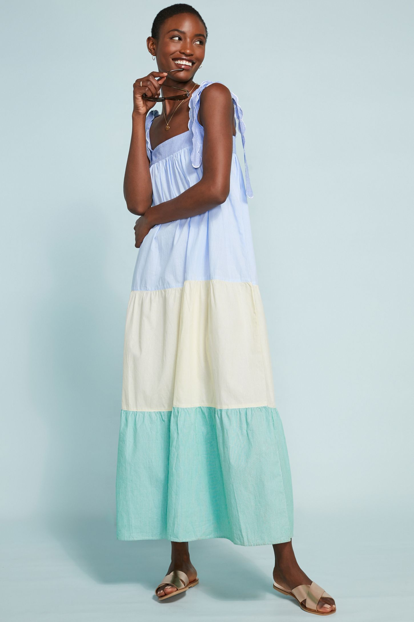 05fcab215dcc5 Lennon Tiered Dress | Anthropologie