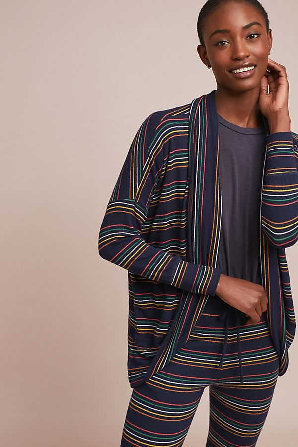 c37af754aeed80 Sundry Striped Knit Cardigan | Anthropologie