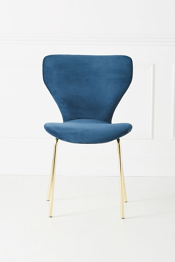 Fauteuil En Velours Gibson by Anthropologie