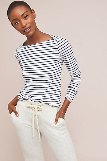 2caf7faceb87a1 Boat Neck - T-Shirts For Women | Women's Tees | Anthropologie