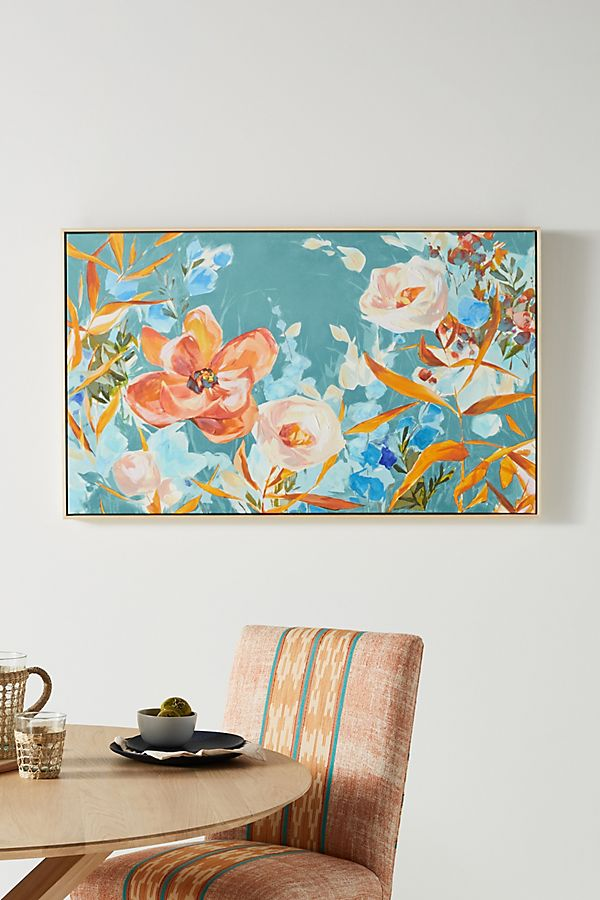 Slide View: 1: Shine On Me Floral Wall Art