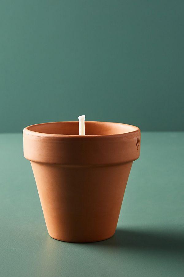 Slide View: 1: Cerabella Terracotta Citronella Candle