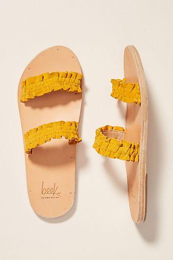 c0eb686a0b7f Beek x Anthropologie Dipper Slide Sandals
