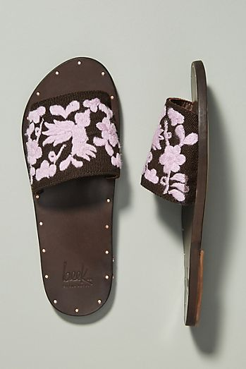 f4b97f939d50 Beek x Anthropologie Lovebird Slide Sandals