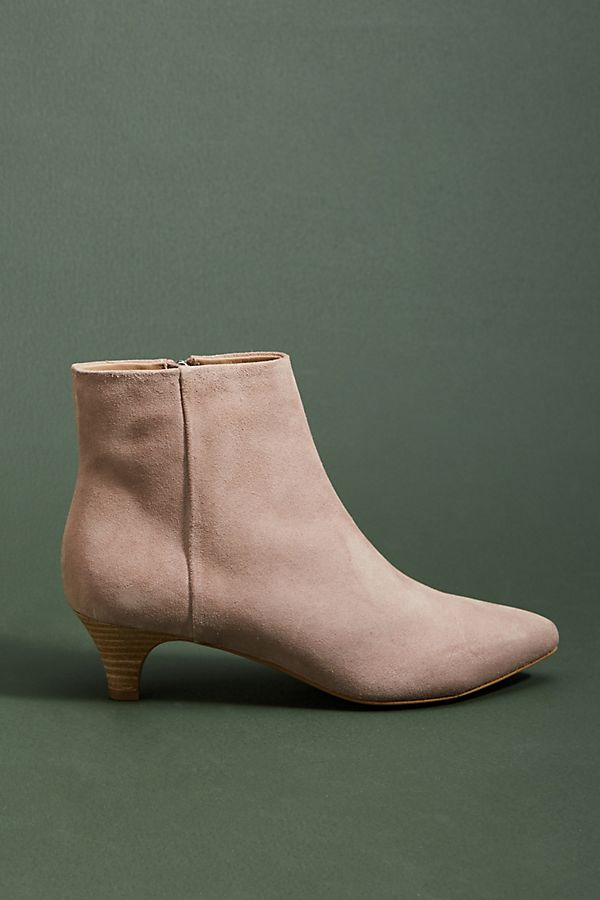 good quality finest selection really comfortable Anthropologie Taylor Kitten-Heeled Booties | Anthropologie