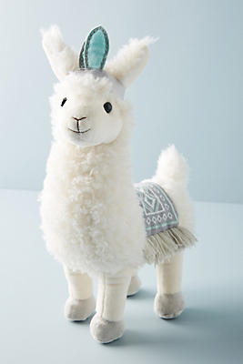 Lucy The Llama Stuffed Animal by Anthropologie