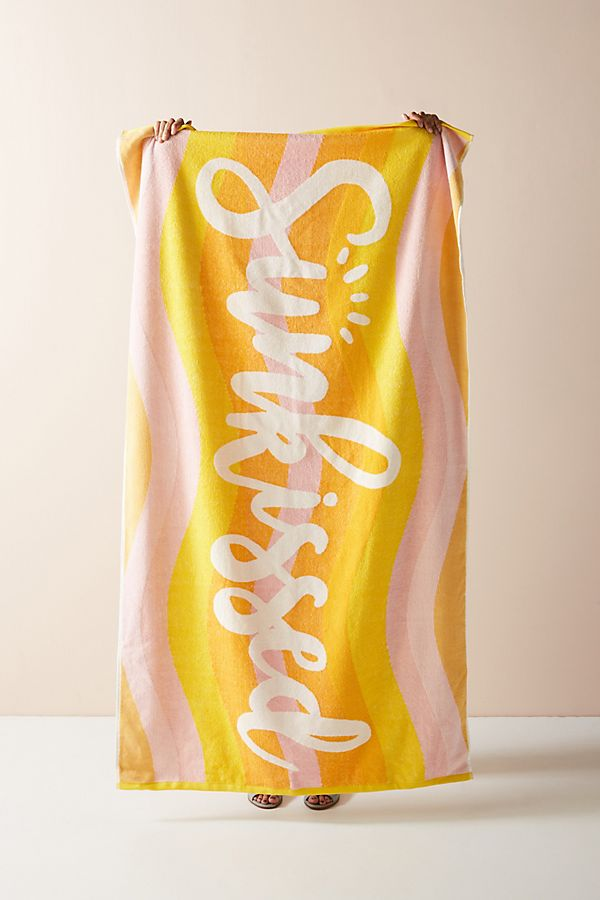 Slide View: 1: Sunkissed Beach Towel