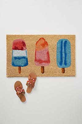 Slide View: 1: Popsicles Doormat
