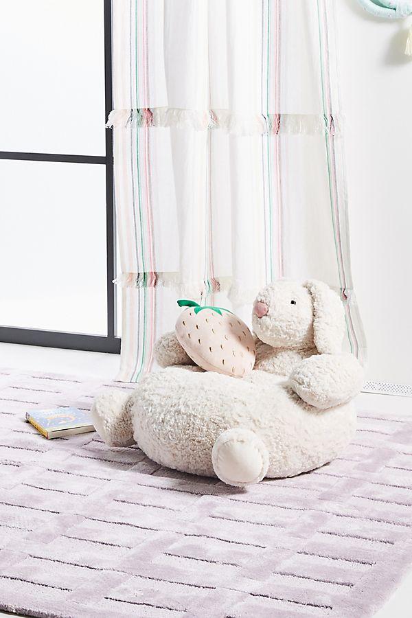 Slide View: 1: Snuggle Bunny Pouf