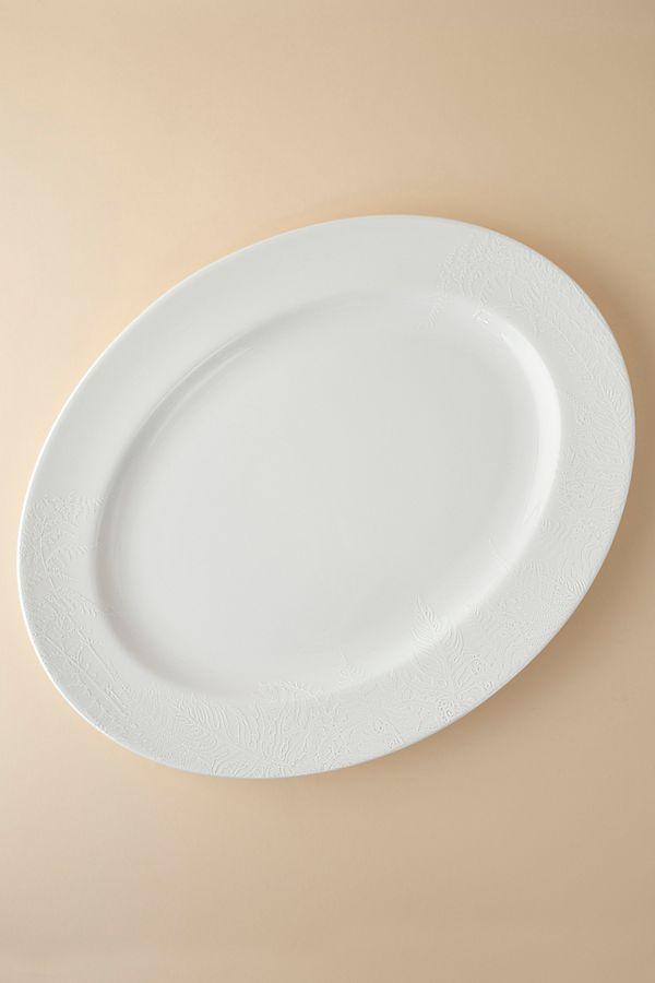 Slide View: 1: Caskata Spring Oval Platter