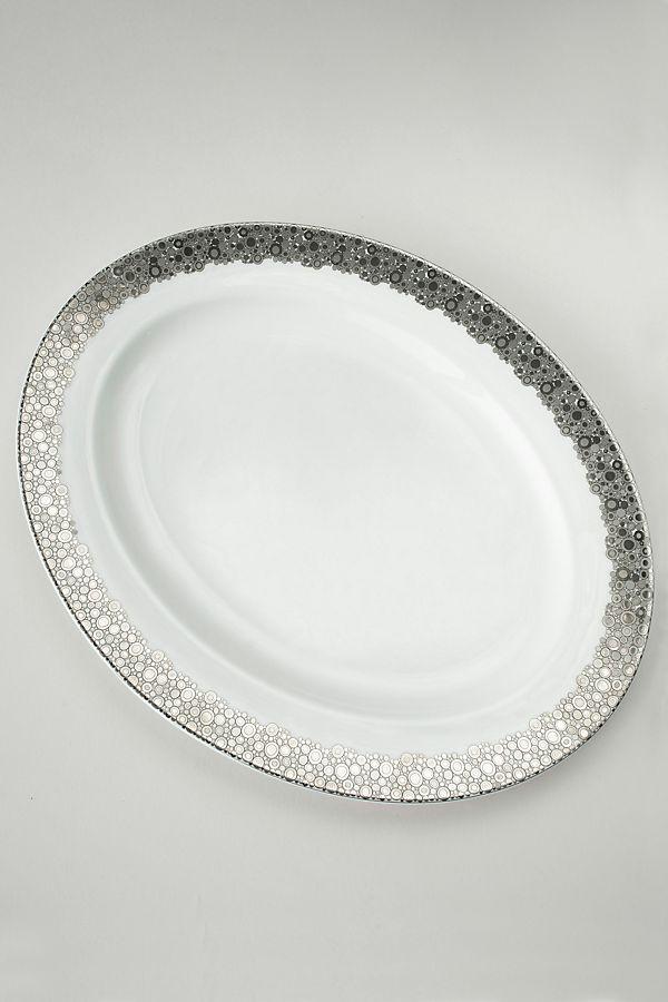 Slide View: 1: Caskata Ellington Shine Oval Platter