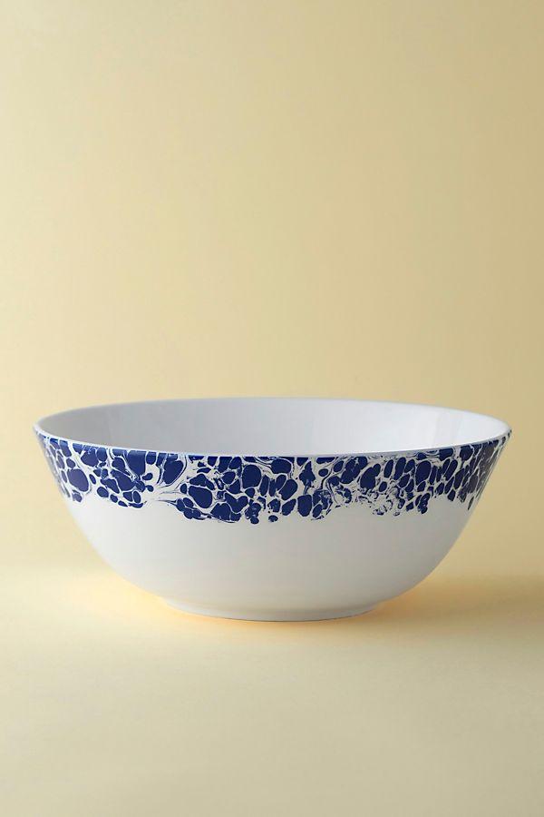 Slide View: 1: Caskata Marble Serving Bowl