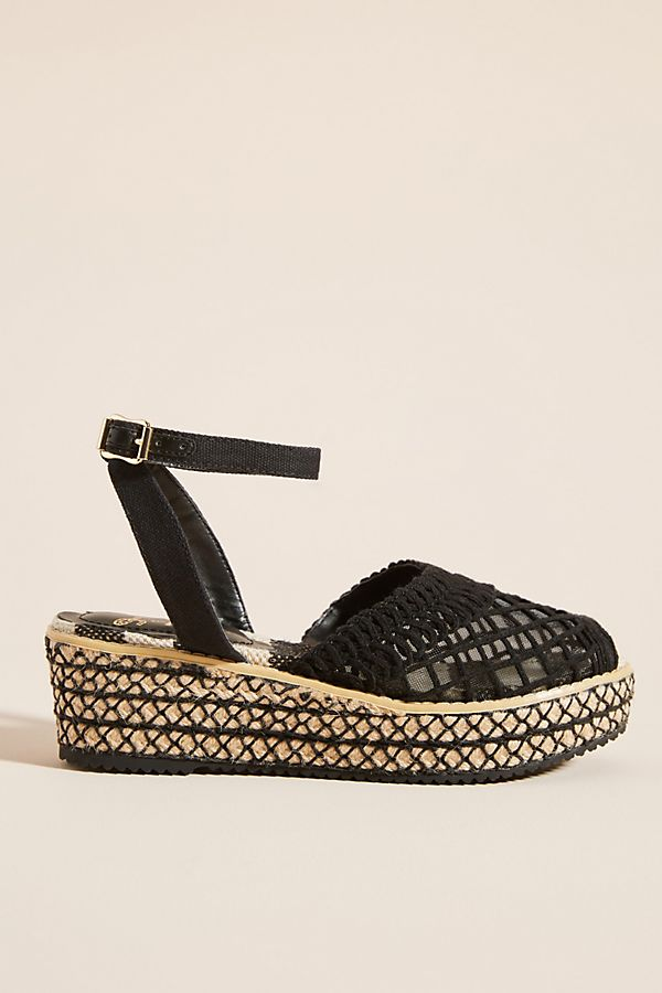 65e9fbe164d Slide View  1  Miss L Fire Toulouse Mesh Espadrille Sandals