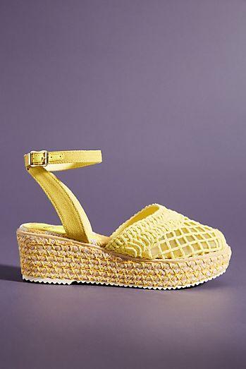 65957208dd68 Miss L Fire Toulouse Mesh Espadrille Sandals