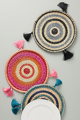 Slide View: 1: Rosa Woven Placemat