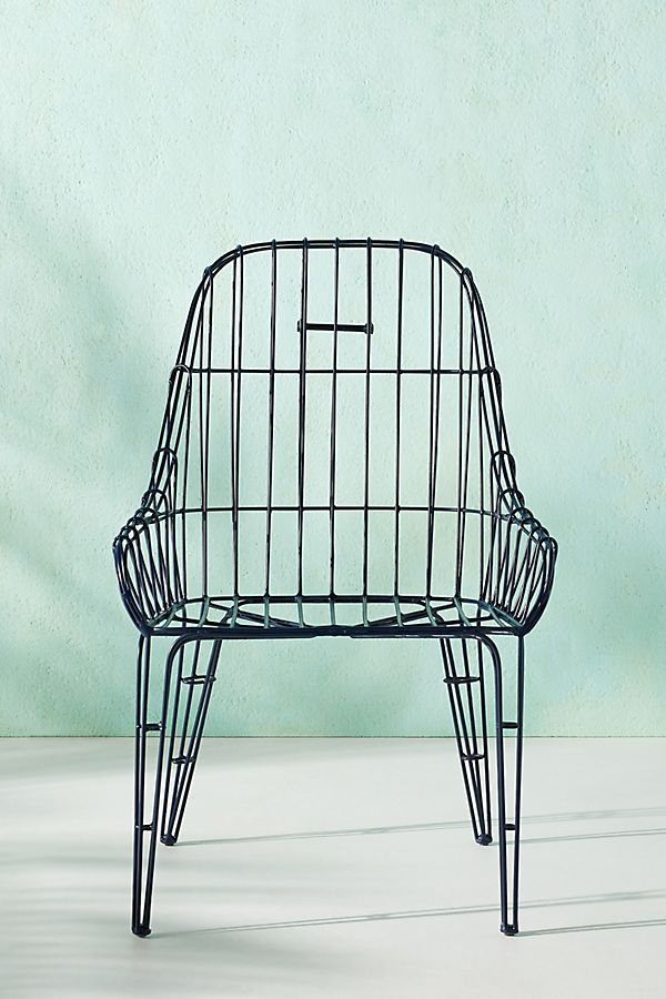 Superb Wire Elowen Indoor Outdoor Dining Chair Creativecarmelina Interior Chair Design Creativecarmelinacom