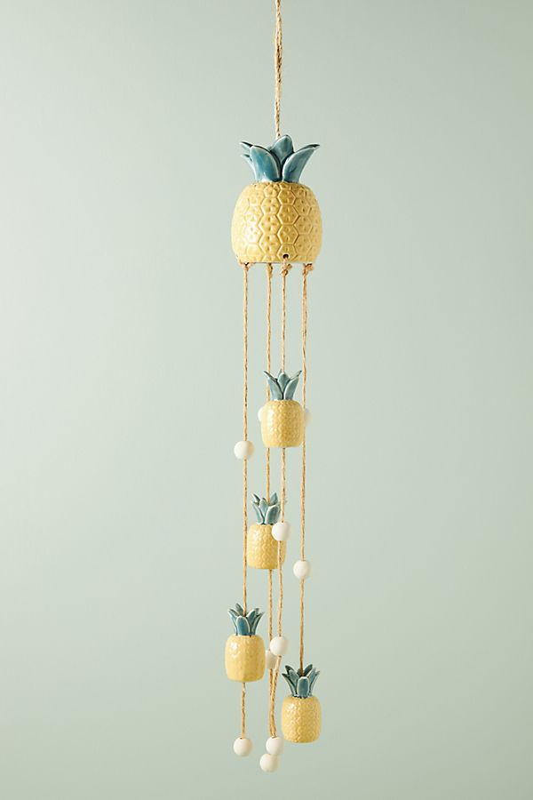 Slide View: 1: Pineapple Wind Chime