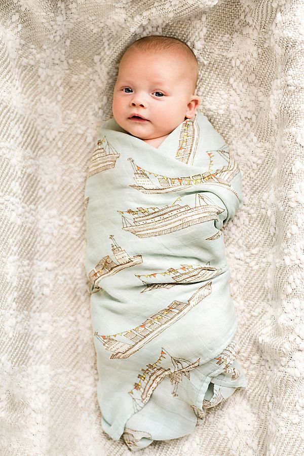 Slide View: 1: Milkbarn Bamboo Swaddle
