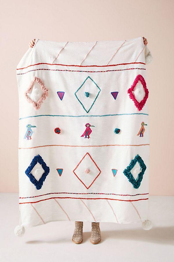 Slide View: 1: Textured Varenya Throw Blanket