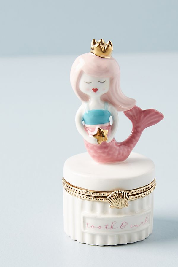 Slide View: 1: Tooth Fairy Trinket Box