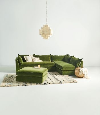 Denver Two Piece L Shaped Sectional Anthropologie
