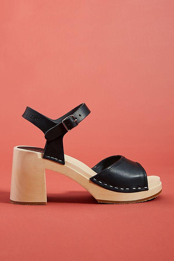 e9e323252cfa Slide View  1  Swedish Hasbeens Inger Clog Sandals