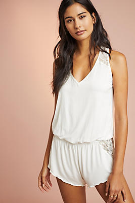 Eberjey Kinga Sleep Romper by Eberjey