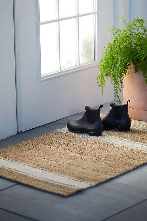Slide View: 4: Market Stripe Doormat