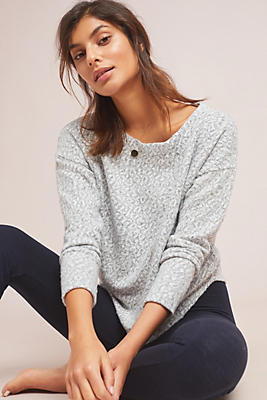 Slide View: 1: Andro Leopard Pullover