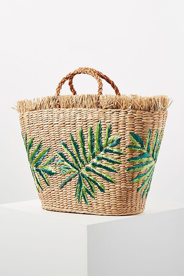 Aranaz Planta Palm Tote Bag by Aranaz